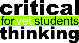 Critical Thinking as a Step Forward in Vet Education