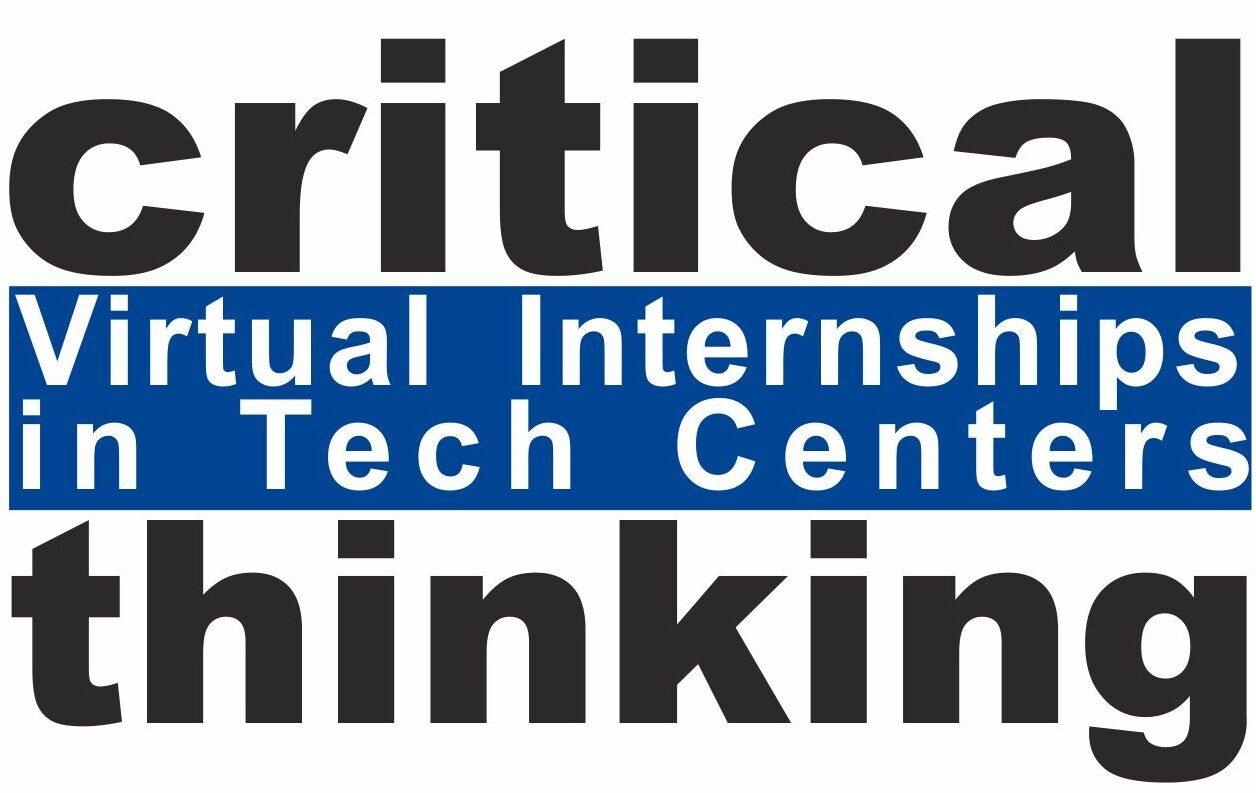 Virtual internships in tech centers